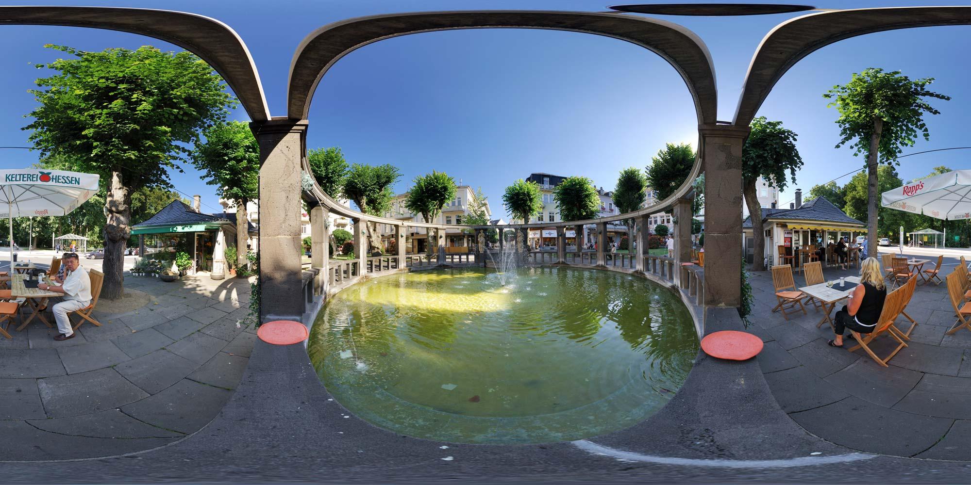 kubische panoramen panorama foto bad nauheim aliceplatz. Black Bedroom Furniture Sets. Home Design Ideas