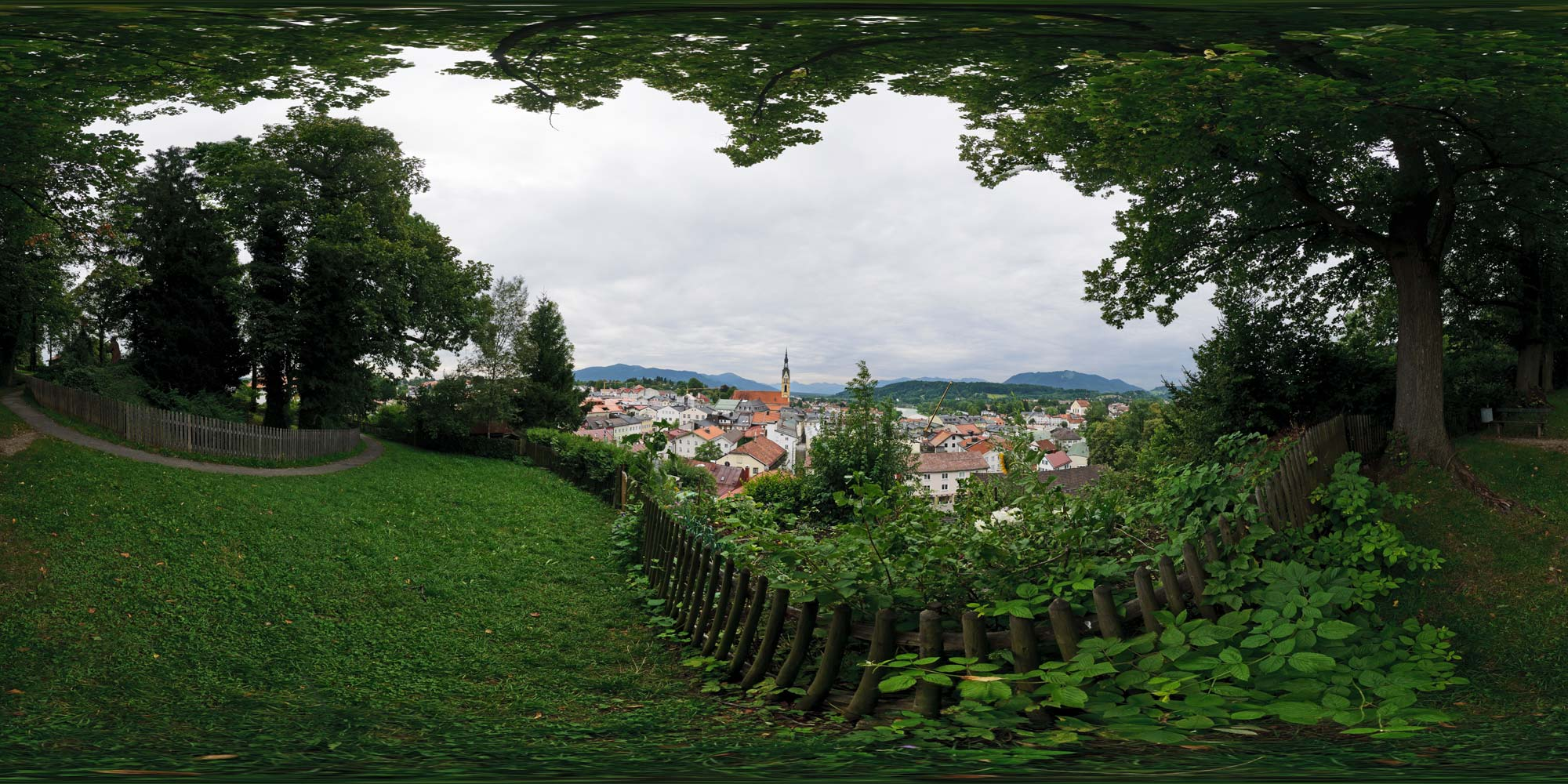 Panorama  Bad Tölz - Aussicht