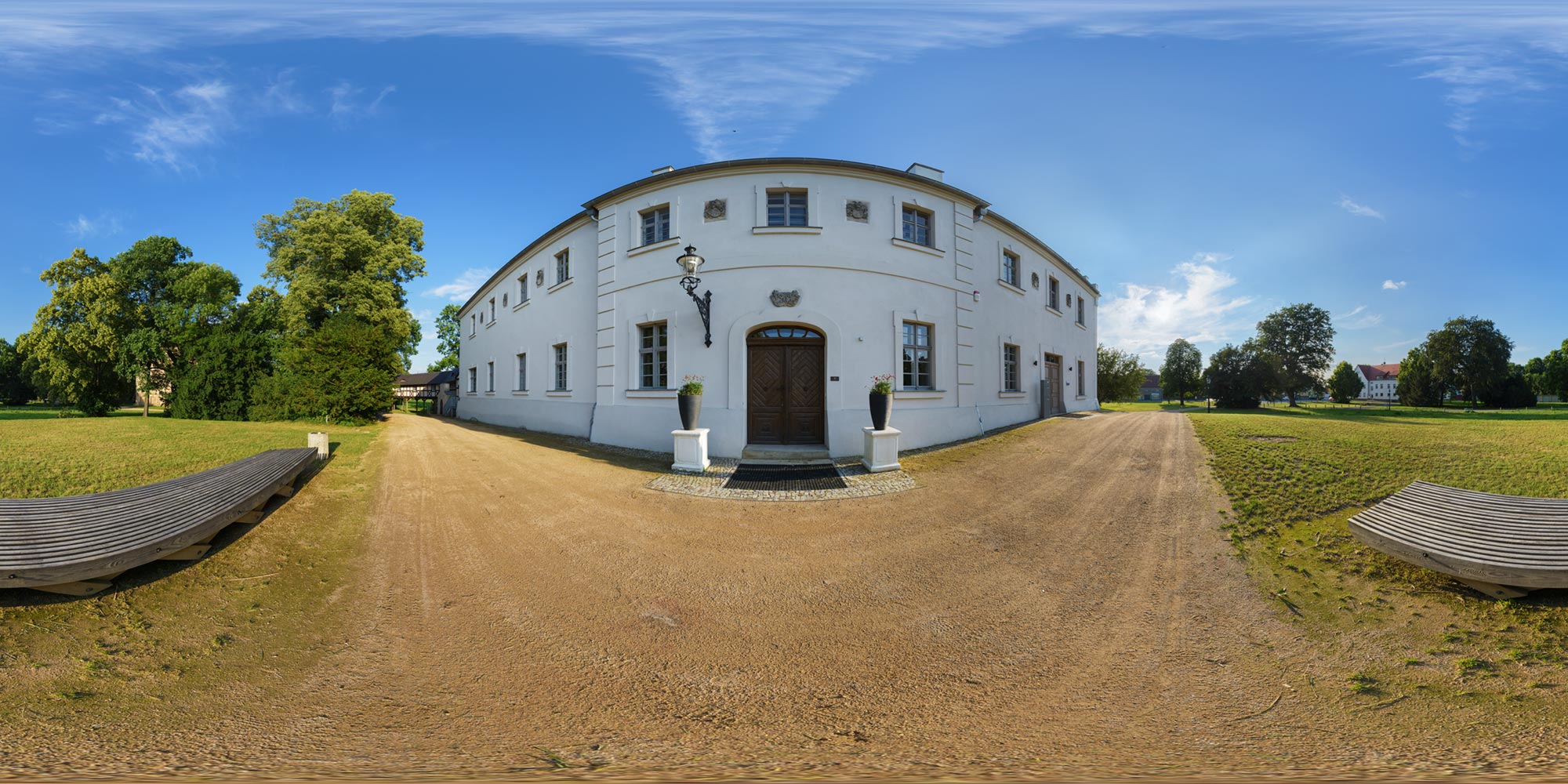 Panorama  Baruth/Mark - Frauenhaus
