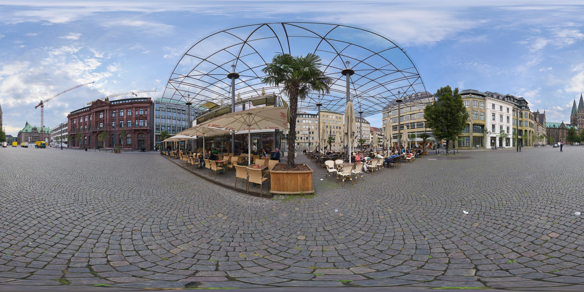Panorama Bremen An Domshof - Cafe