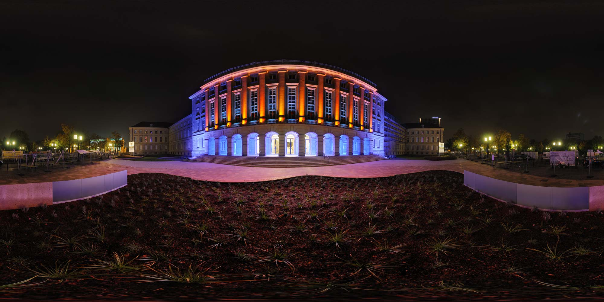 Panorama Berlin Festival of Lights - FOL 2009 Ernst-Reuter-Haus