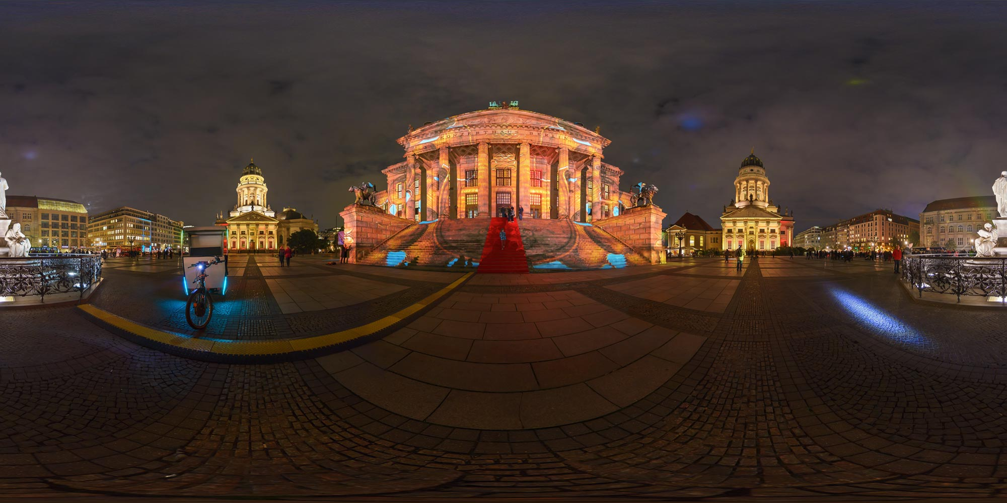 Panorama Berlin Festival of Lights - FOL 2016 Konzerthaus