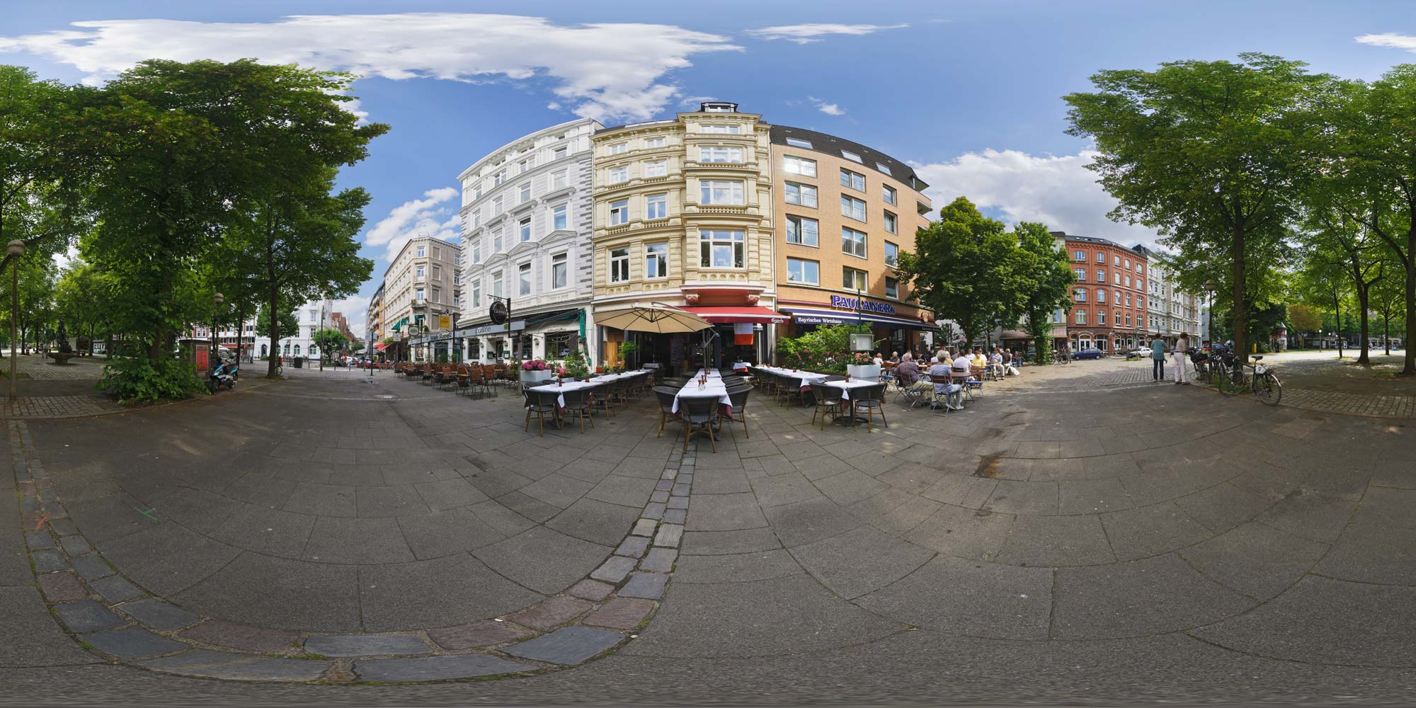 kubische panoramen panorama foto hamburg innenstadt grossneumarkt. Black Bedroom Furniture Sets. Home Design Ideas