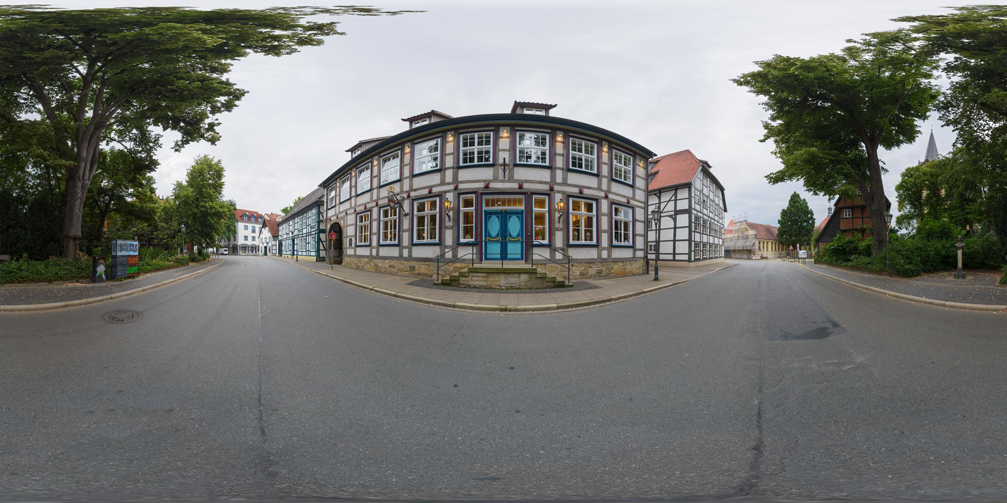 Panorama  Herford - Elisabethstraße
