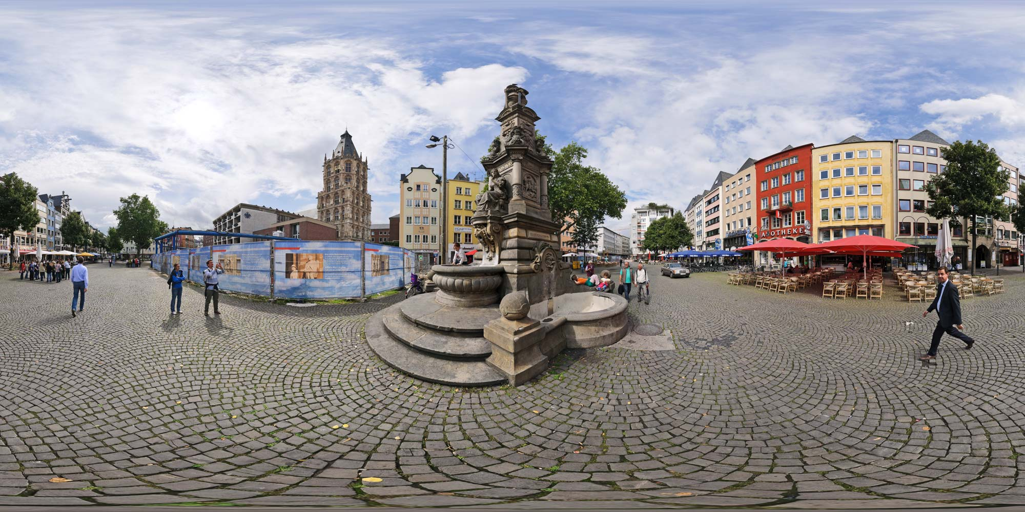 kubische panoramen panorama foto k ln alter markt. Black Bedroom Furniture Sets. Home Design Ideas