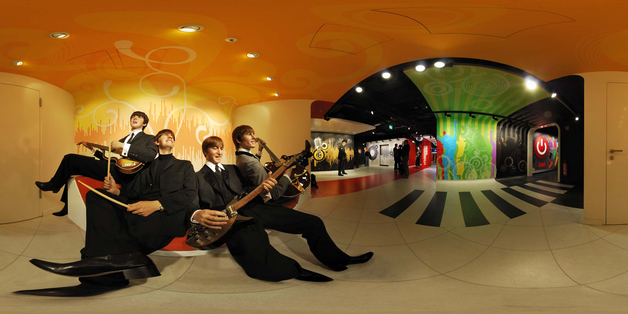 Panorama Berlin Madame Tussaud - The Beatles