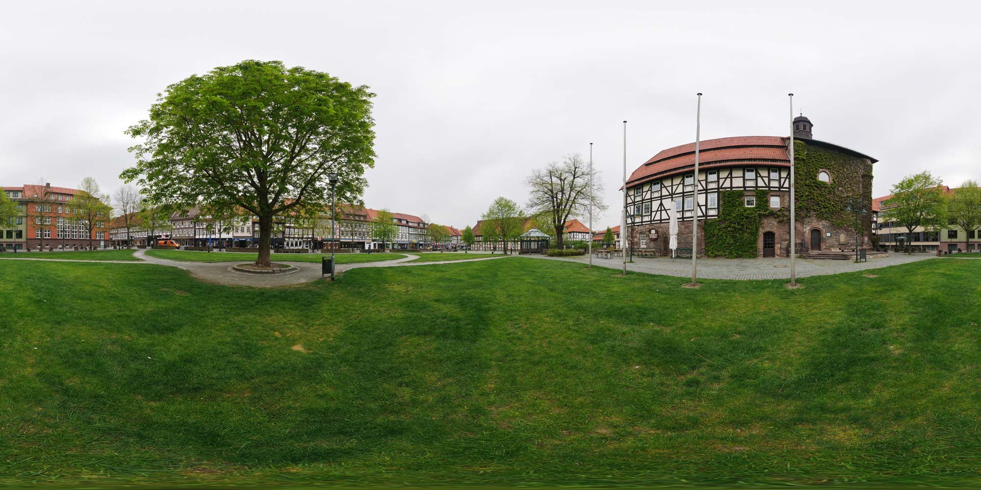 Panorama  Northeim - St. Blasien