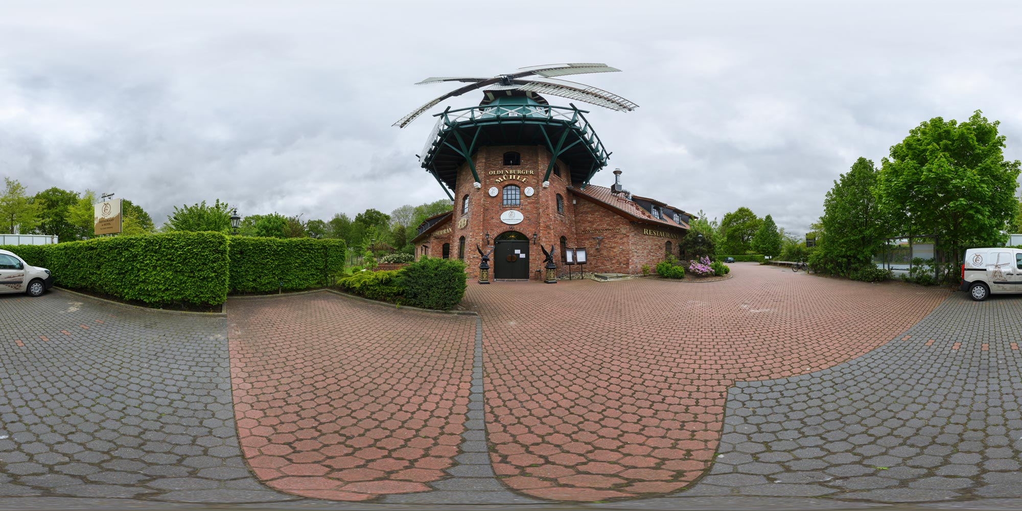 Panorama  Oldenburg - Mühle