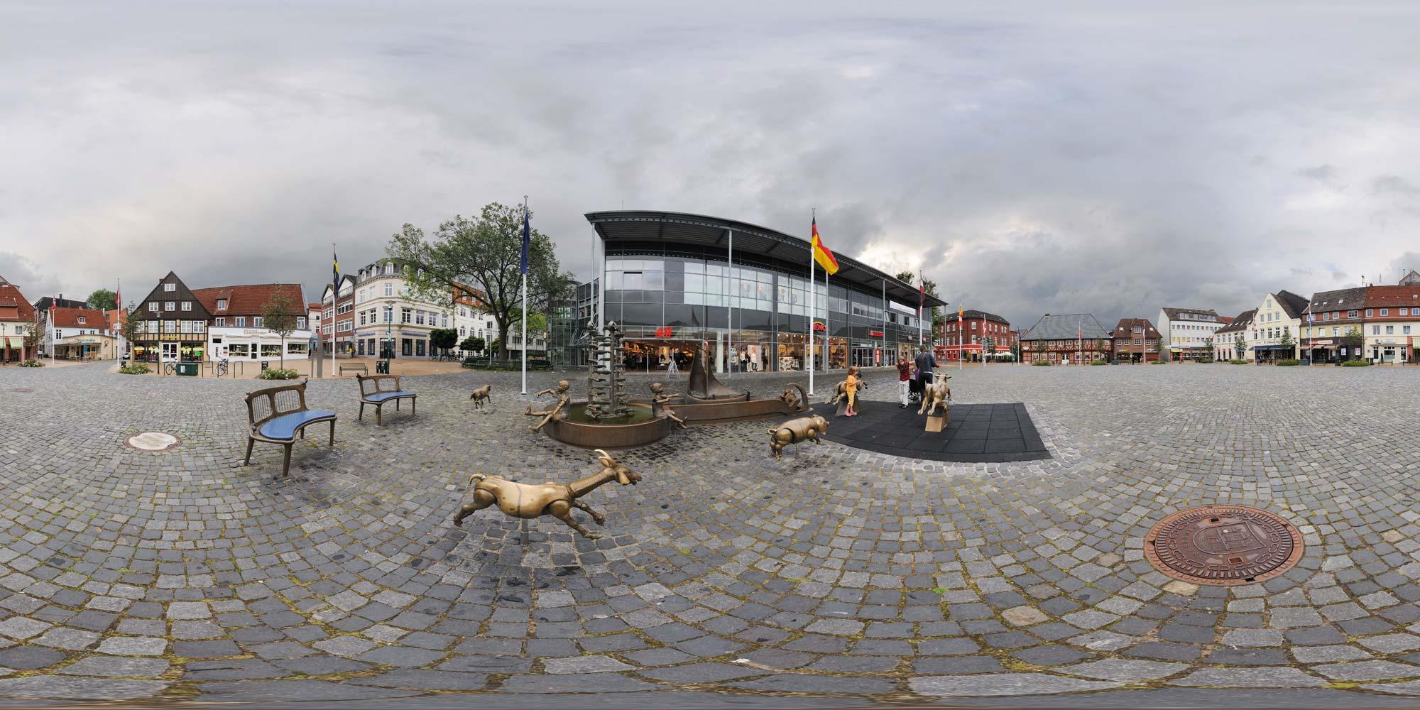 Schiffbrückenplatz Rendsburg