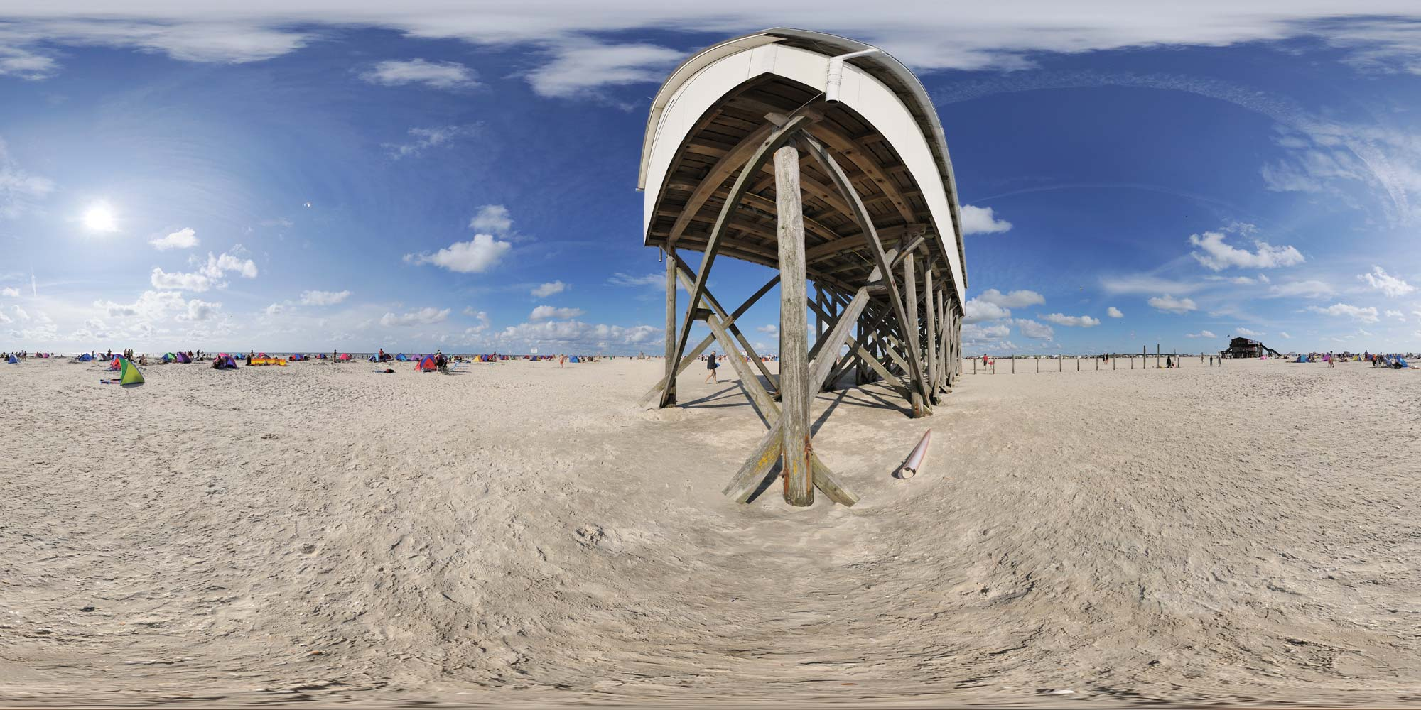 Panorama  St. Peter Ording - Nordstrand