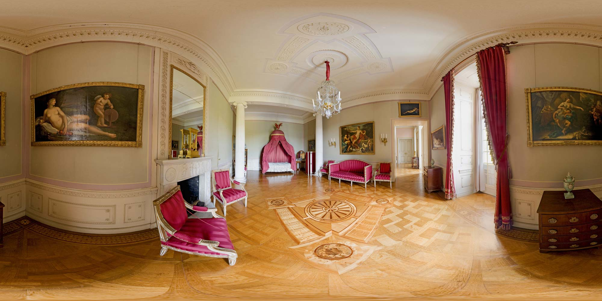 kubische panoramen panorama foto kassel schloss wilhelmsh he raum 108. Black Bedroom Furniture Sets. Home Design Ideas