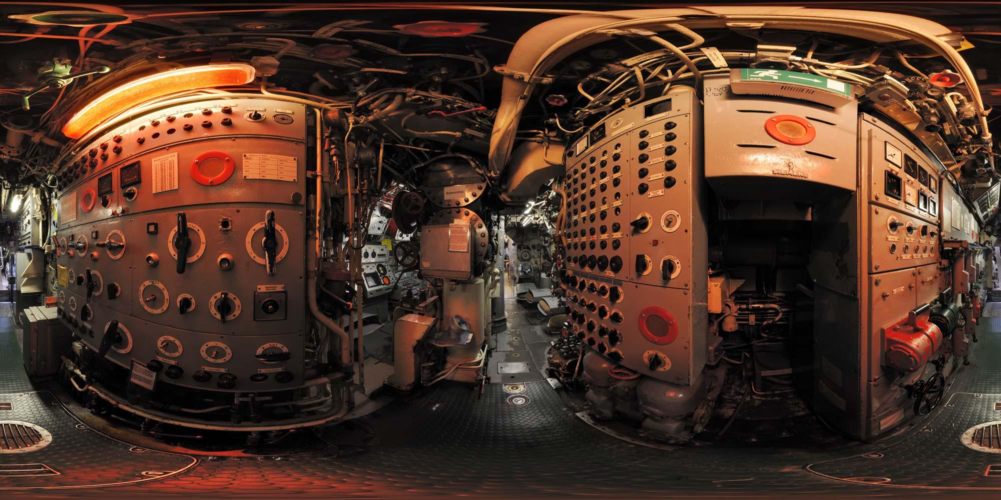 Elektro 2000 Wilhelmshaven kubische panoramen panorama foto wilhelmshaven u boot klasse