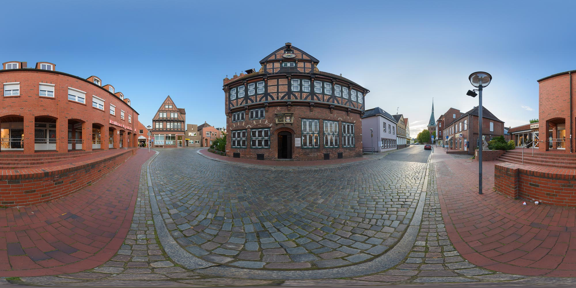 Panorama  Wilster - Altes Rathaus
